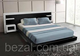 Кровать деревянная двуспальная Стелла