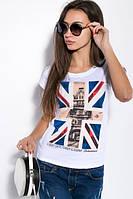 Футболка флаг Великобритания принт два цвета, фото 1