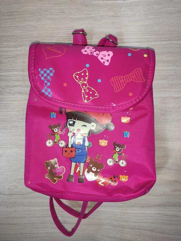 Рюкзак для девочки малиновый арт 704.