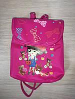 Рюкзак для девочки малиновый арт 704., фото 1