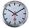 """Годинники настінні """"Station Number"""", білі"""