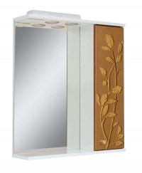 Зеркало для ванной комнаты Аэрография 60-01 правое Скрипулянт + листок