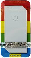 Защитная пленка Remax для iPhone 5/5S/5SE (front + back) Pure Sticker White