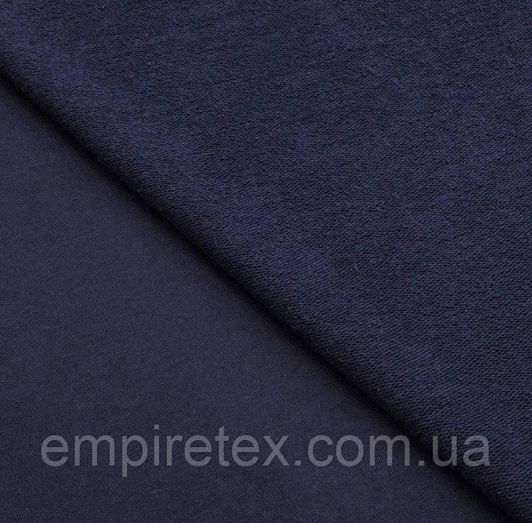 Трехнитка без начеса (петля) Темно-синий