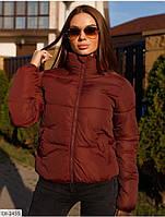 Курточка женская. Утепленная женская курточка. Короткая стильная женская курточка на молнии Куртка весна осень