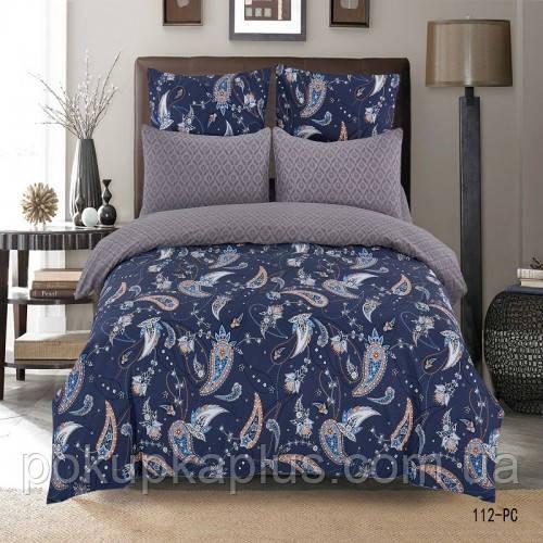 Комплект постельного белья Узорчик Сатин 180х210 двуспальный 112-PC-A-B