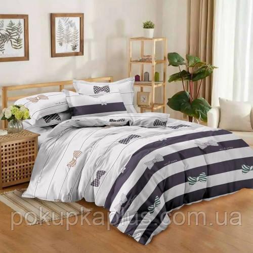 Комплект постельного белья Бантик Сатин 180х210 двуспальный KWL-1922-A-B