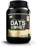Протеин Optimum Nutrition Natural 100% Oats & Whey 1360 г Шоколад (4384302456)