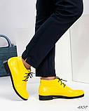 Стильные демисезонные женские ботинки на шунровке, фото 3