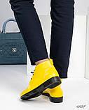 Стильные демисезонные женские ботинки на шунровке, фото 4