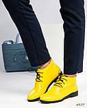Стильные демисезонные женские ботинки на шунровке, фото 5
