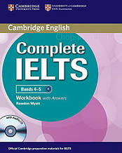 Complete IELTS Bands 4-5 Workbook with answers and Audio CD / Тетрадь с ответами и диском