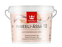 Панельный акриловый лак Tikkurila Paneeli Assa (матовый) 2,7 л