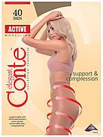 Колготки Conte Active 40 Den Кавовий (Shade) розмір 3, фото 1