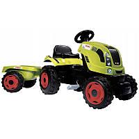 Трактор педальный Smoby Farmer XL Tractor With Trailer CLAAS