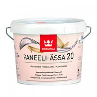 Панельный акриловый лак Tikkurila Paneeli Assa (полуматовый) 9 л