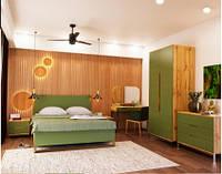 Ліжко Art-In-Head Swan Н-233 балі зелений