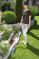 Ножницы аккумуляторные для трави Gardena Comfort Cut+ручка+колеса, фото 2