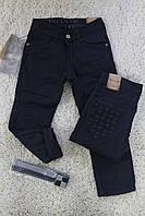 Брюки коттоновые утепленные для мальчика Карман Узор Размер 6 лет. Разные цвета