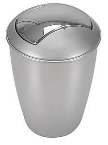 Ведро для мусора SPIRELLA ATLANTA 5 л 10.04264 Серебристый