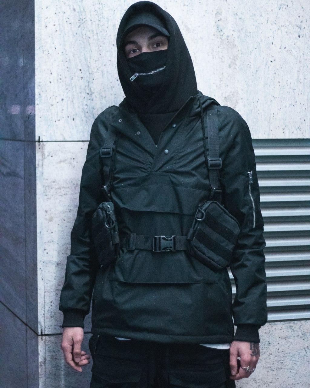 Куртка-анорак мужская