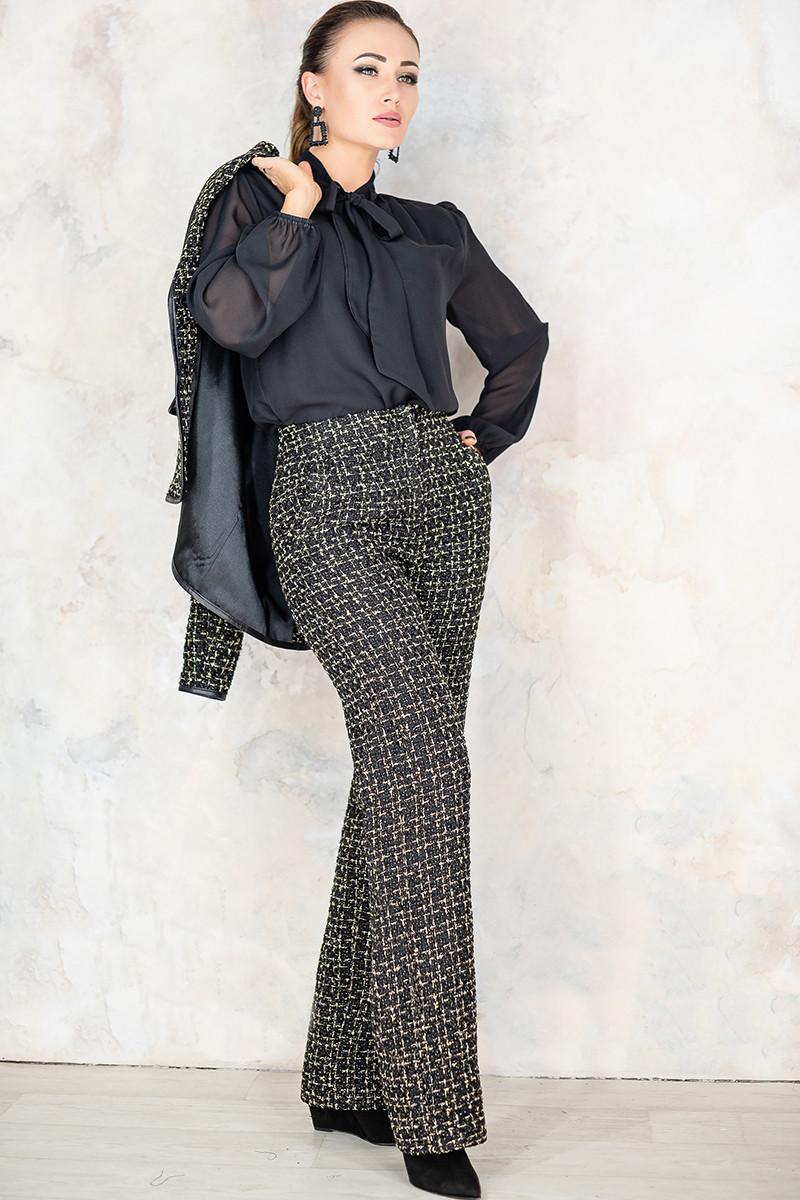 Женские брюки из твида Джанет