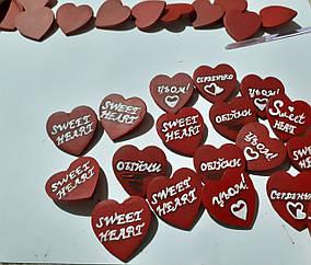 Значок-серце з дерева/ Авторська робота//Значок для одягу// Hand Made// Брошка деревянная/ Значек для одежды