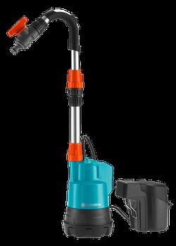 Насос аккумуляторный для резервуаров Gardena Accu2000/2 Li-18 Set Gar