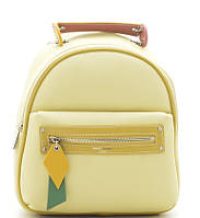 Женский рюкзак David Jones 5624 yellow David Jones (Дэвид Джонс) - оригинальные сумки, клатчи и рюкзаки, фото 1