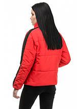 Куртка женская демисезонная (красный), фото 3