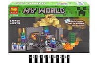 """Конструктор """"Minecraft: Подземелье"""", 219 деталей BELA"""