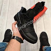 Philipp Plein мужские кожаные кеды(кроссовки,туфли) натуральная кожа
