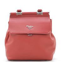 Женский рюкзак David Jones 5954-2 red David Jones (Дэвид Джонс) - оригинальные сумки, клатчи и рюкзаки, фото 1