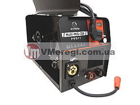 Сварочный полуавтомат инверторный Сталь MULTI-MIG-325 PROFI + Омедненная сварочная проволока (0,8 мм; 5 кг), фото 3