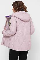 Яркая женская куртка фиолетового цвета,  размер 46-52, фото 3