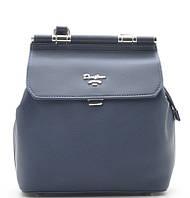 Женский рюкзак David Jones 5954-2 d.blue David Jones (Дэвид Джонс) - оригинальные сумки, клатчи и рюкзаки, фото 1