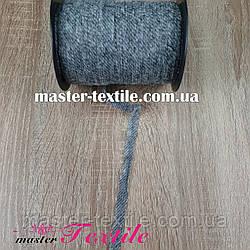 Долевик нитепрошивной с цепным стежком 12 мм,300м (серый)
