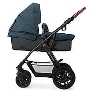 Универсальная коляска 3 в 1 Kinderkraft Xmoov Denim, фото 3