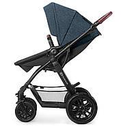 Универсальная коляска 3 в 1 Kinderkraft Xmoov Denim, фото 8