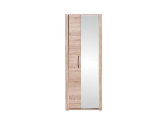 Шкаф в прихожую GO M129-REG1L1D/20/7-DSO (BRW), фото 2