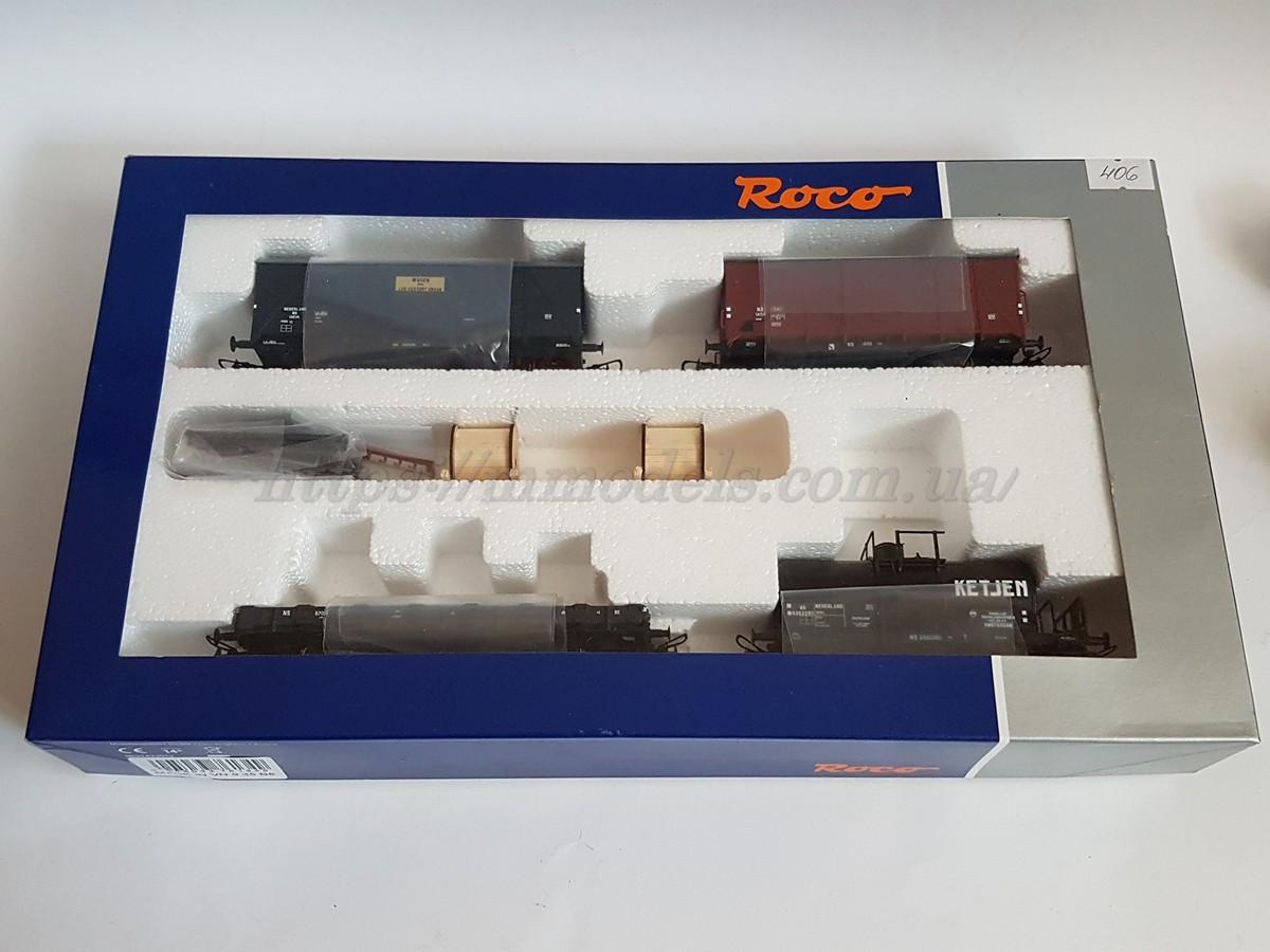 Roco 76134 Сет,набор из 4х грузовых вагонов Голландских железных дорог, масштаба 1:87,H0