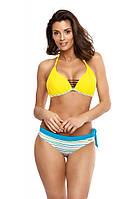 Желто-голубой купальник Marko M 550 PALOMA. Много расцветок