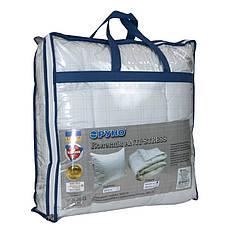 Одеяло евро 200х220 Карбоновая нить + 2 подушки 50х70 Anti-stress, фото 3