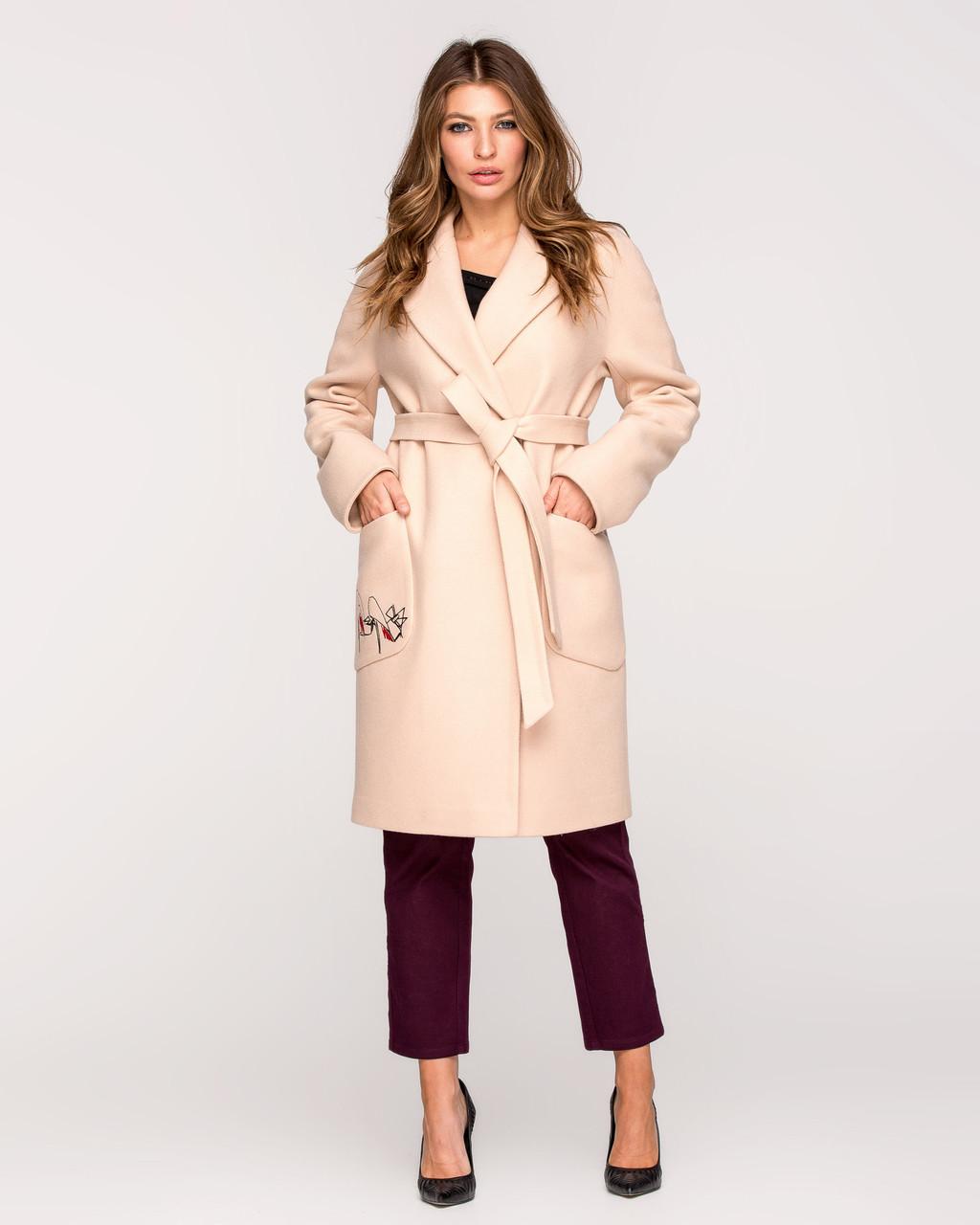 Модное пальто весна 2020 с 42 по 52 размер
