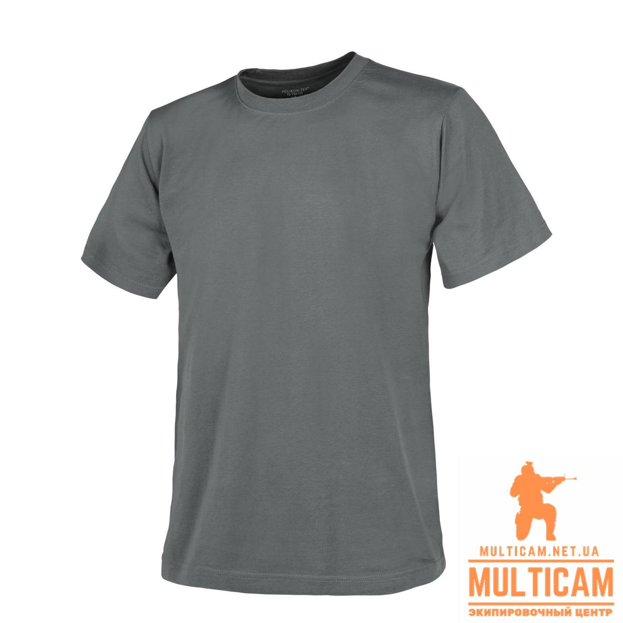 Футболка Helikon-Tex® T-Shirt - Cotton - Shadow Grey