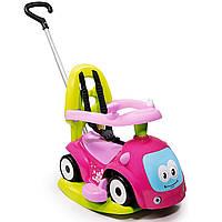 """Детская машина каталка толокар """"Маестро"""" с качелей 4 в 1 Maestro Smoby 720303 для детей"""