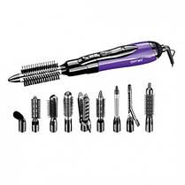 Воздушный стайлер для волос Gemei GM 4835, фиолетовый