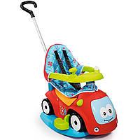 """Детская машина каталка толокар """"Маестро Комфорт"""" с качелей 4 в 1 Smoby 720400 для детей"""