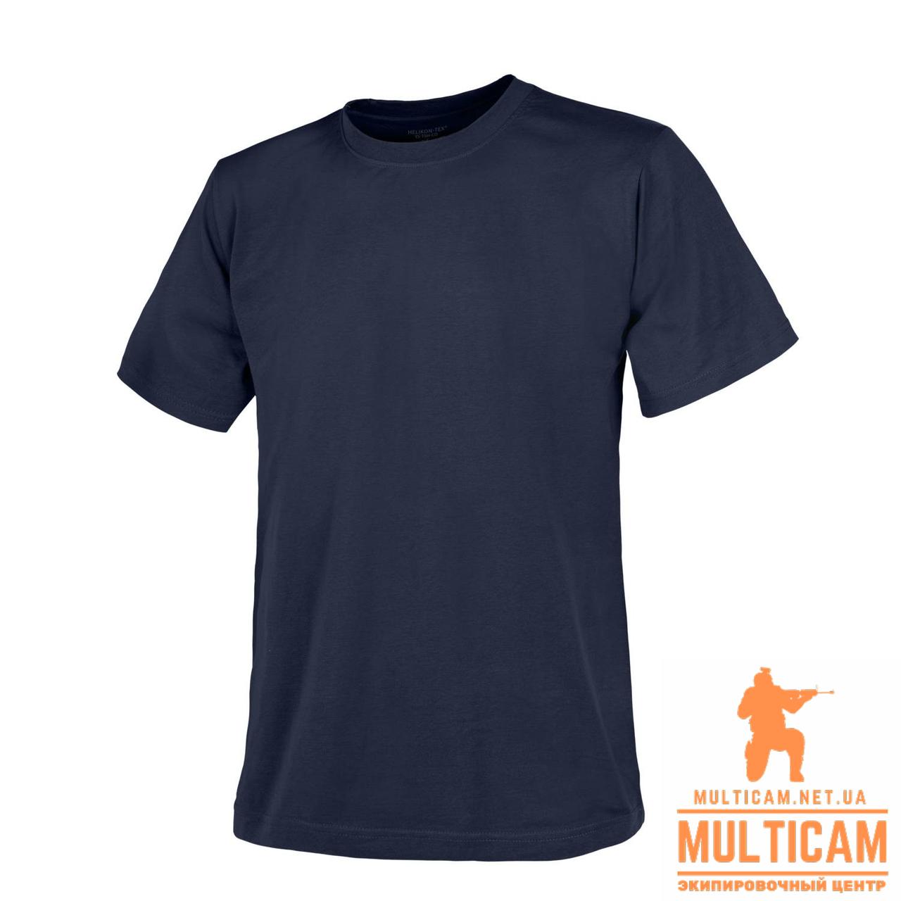 Футболка Helikon-Tex® T-Shirt - Cotton - Navy Blue