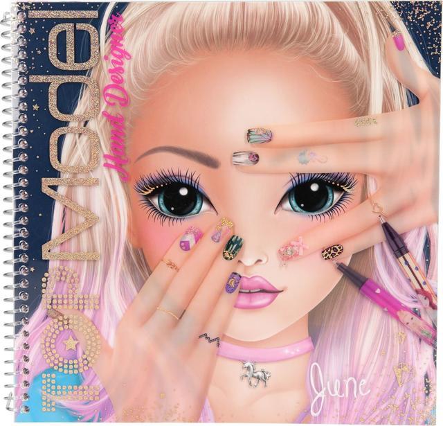 top model дизайн ногтей